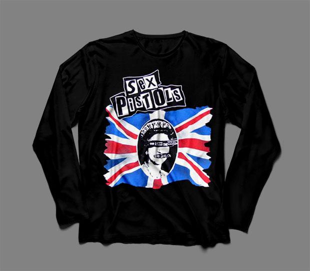 Sex Pistols Long Sleeve Shirt